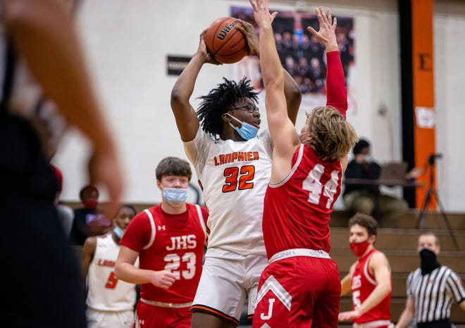 Lanphier High School's KJ Debrick is The State Journal-Register's Large School Boys Basketball Player of the Year. [JUSTIN L. FOWLER/THE STATE JOURNAL-REGISTER]