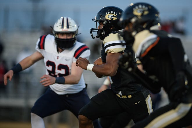 Terry Sanford at Gray's Creek football game on Friday, March 5, 2021.