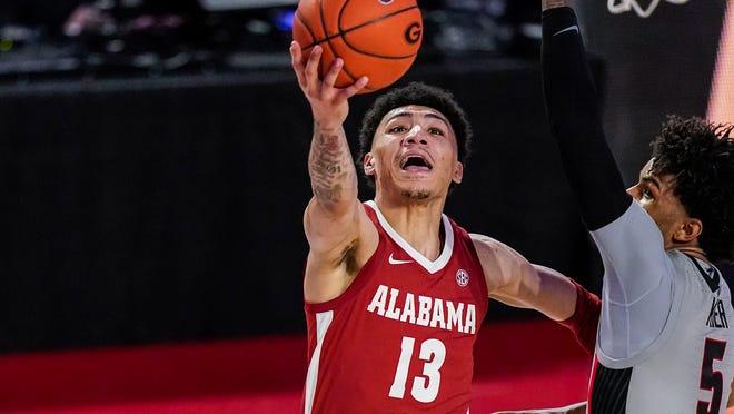 Jahvon Quinerly rallies Alabama basketball past Georgia