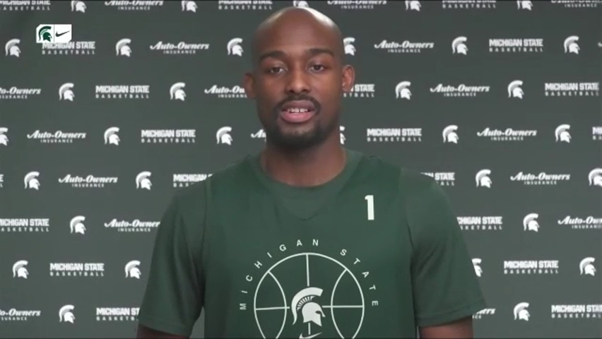 Joshua Langford not thinking about sixth year, only Michigan State basketball's present