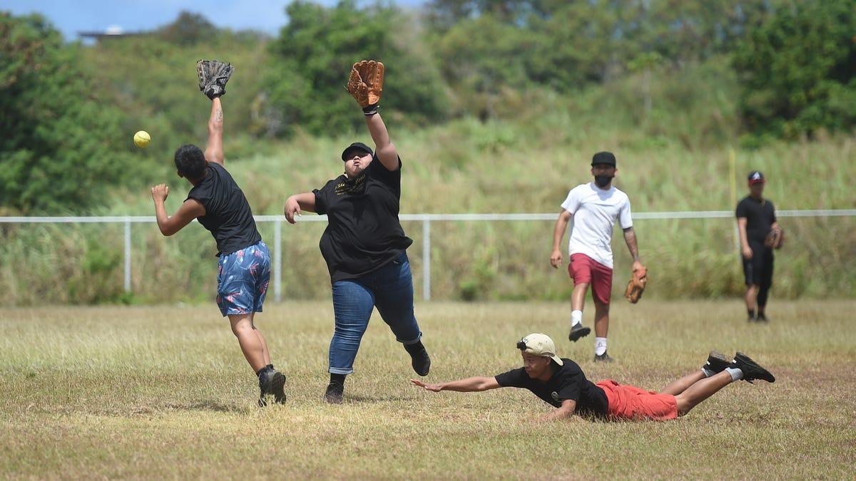 Workforce MBI prepares for GHRA softball