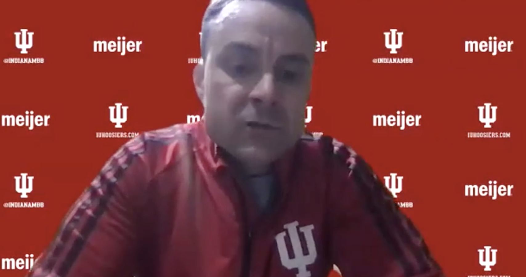 Archie Miller: 'Proud of our guys... we're just struggling shooting the ball.'
