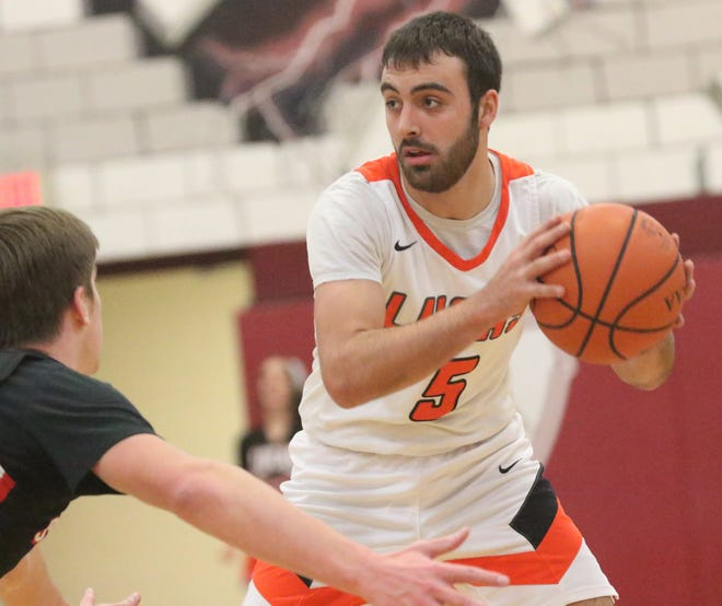 Lucas' Ethan Sauder was selected as a first team All-Northwest District player in Division IV.