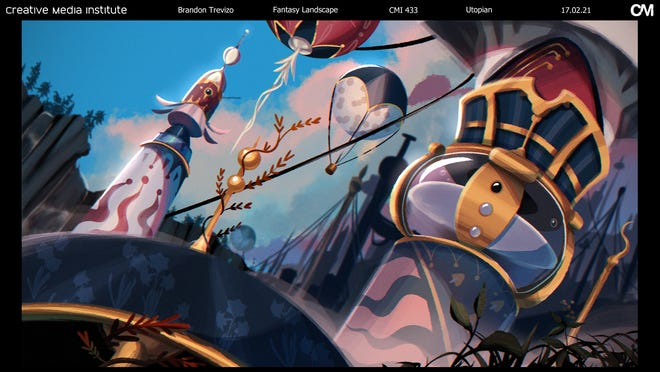 Examples of animation by Brandon Trevizo.