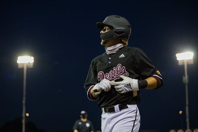 ASU baseball won its fourth straight game Friday, edging Utah 4-3 in a non-conference game. Fans were in attendance for the first time at an ASU athletic event in 2020-21.