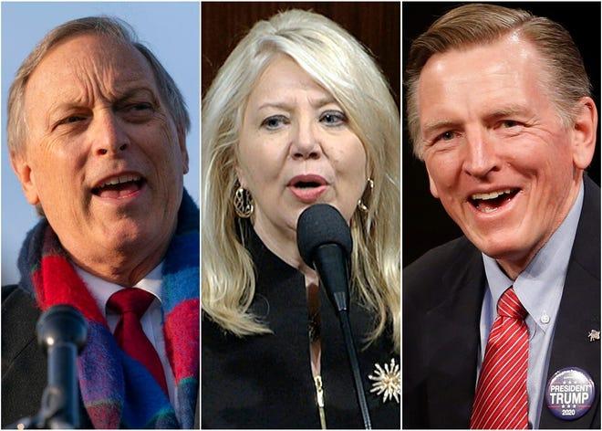 Reps. Andy Biggs, Debbie Lesko and Paul Gosar