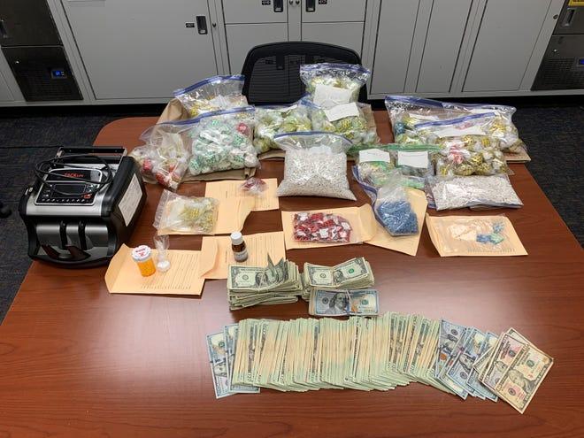 Ventura County deputies seized over 34,000 alprazolam pills during a narcotics investigation on Tuesday.