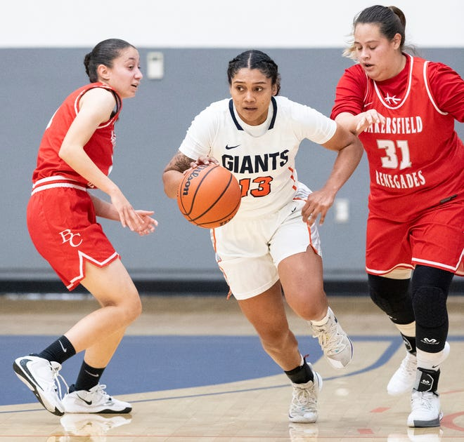 College of the Sequoias' Alana Roberts and the women's basketball team are undefeated this season.