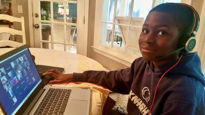 Caleb Anderson, a 12-year-old from Marietta is taking the next giant leap in his educational journey - Georgia Tech.
