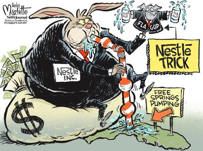 Today's editorial cartoon (March 8, 2021)