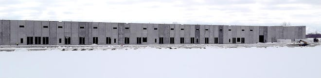 Construction has begun as the old Nike base in Newport.