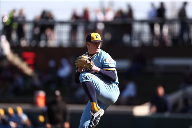 Luke Albright earned the win as Kent State defeated No. 2 Mississippi State on Saturday in Starkville.