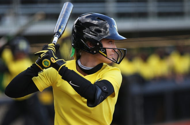 Haley Cruse led Oregon with a .389 batting average this year and became the first player in school history to lead the Ducks in batting average for four straight seasons.