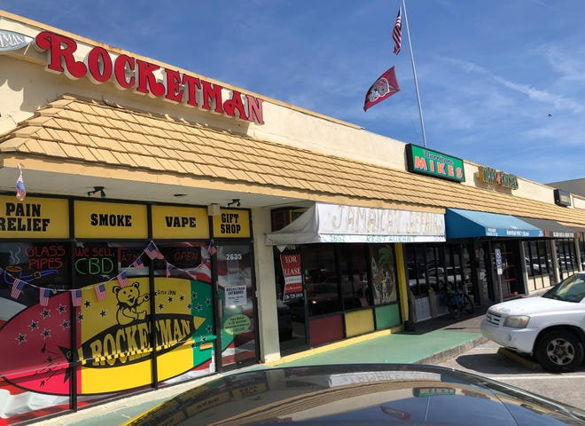Rocketman in Gulf Gate, has been stocking its shelves with counterculture consumer trends for 25 years. And today's hottest item – a legally available form of marijuana called Delta-8-THC – is a testament to the ingenuity of neuropharmacologists extracting the biggest bang for the buck from the cannabis plant.