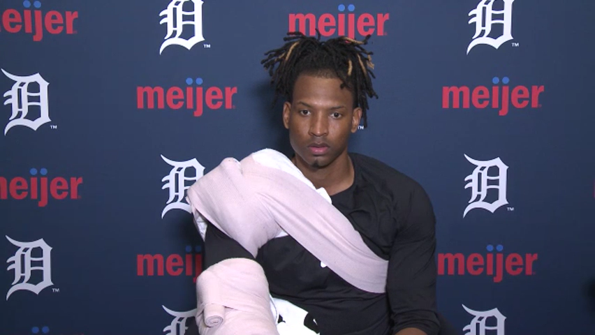 Right-hander Jose Urena breaks down first start with Detroit Tigers
