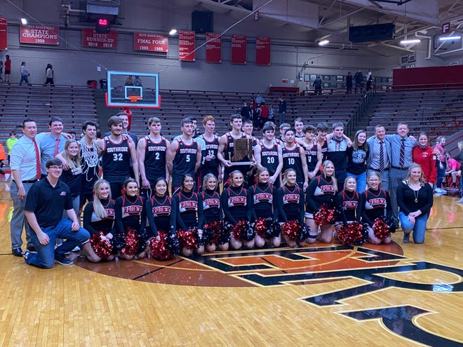 Southridge is the Class 2A Sectional 48 champion after defeating South Spencer 58-44 in the final on its home floor.