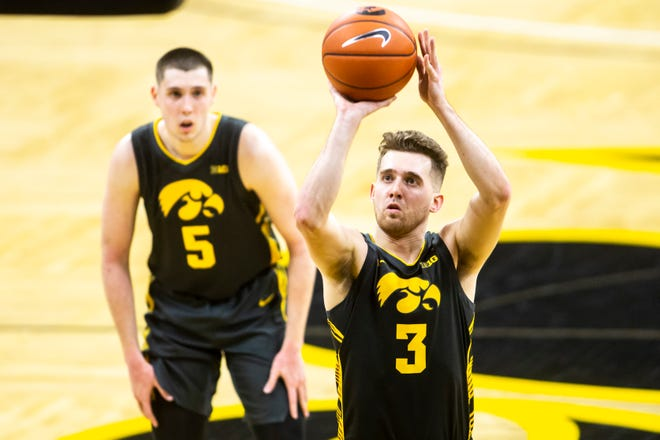Iowa's Jordan Bohannon has been a key voice in the national conversation for college athletes' rights.