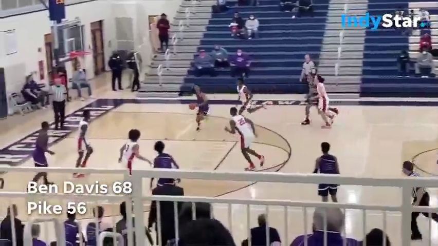Indiana High School Basketball Sectional Highlights: Ben Davis 68, Pike 56-