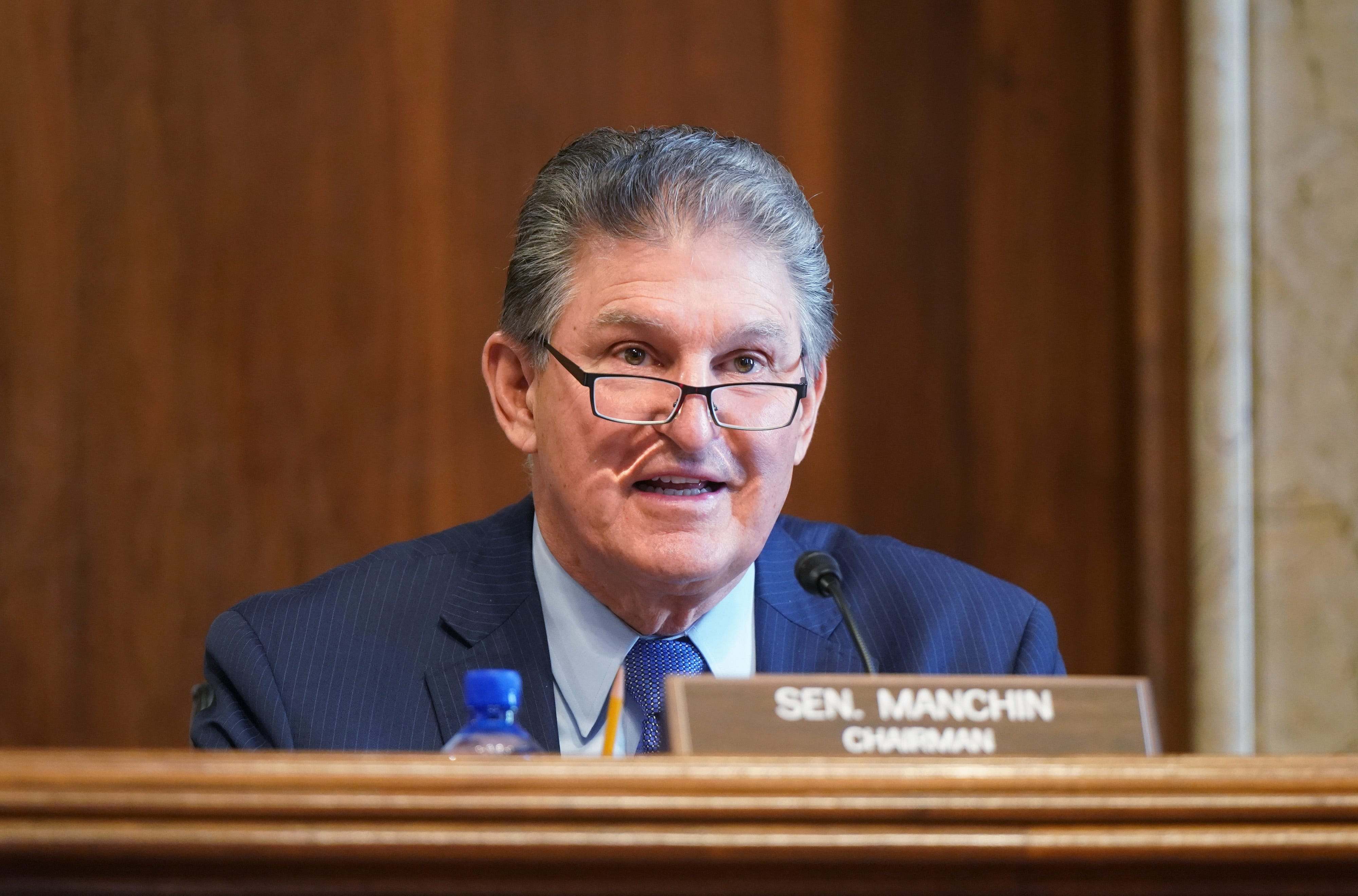 Manchin:  No circumstance in which I will vote to eliminate or weaken the filibuster