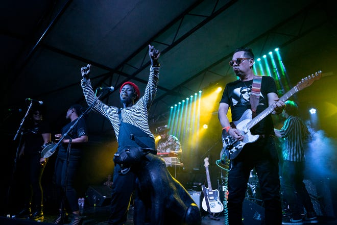 The Black Pumas kick off a three-night run of sold-out shows Aug. 23, 2019, at the Mohawk. They're playing five sold-out shows this month at Stubb's.