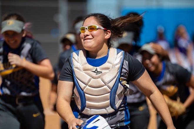 Pflugerville's Elia Palomo and the Panther softball team opened District 18-5A play with a pair of wins last week.