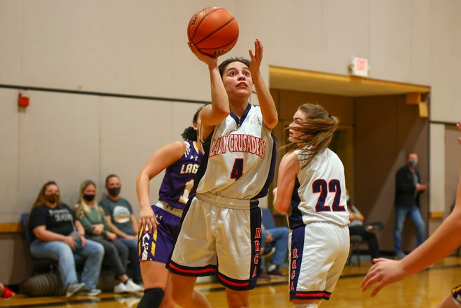 CJ Jaramillo overcame foul trouble to score 18 points and help the Round Rock Christian Academy girls basketball team beat Waco Live Oak in a TAPPS Class 3A regional championship game.