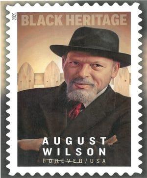 USPS Black Heritage stamp honors August Wilson.