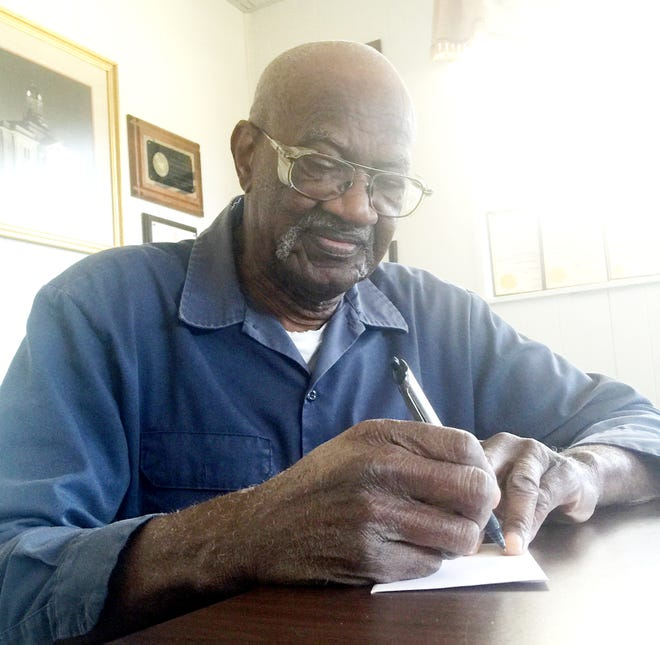 """For the last 20 years, Izell Heggs Jr. has sent donations to two different charities every month. """"I feel like that's just a blessing from God for me to be able to do it. I feel like God told me to do this,"""" he said."""