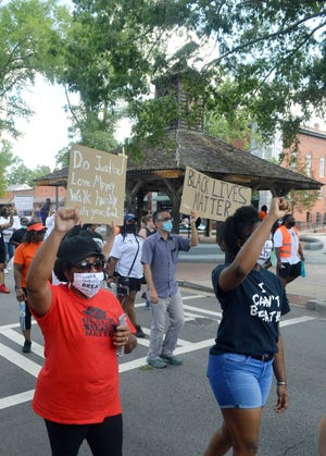 Over the last year the City of Louisville has been meeting with local residents who have asked it to remove the market house, where slaves were once sold, from its downtown. These conversations began a year ago after hundreds of citizens took part in a march to the courthouse to promote racial justice.