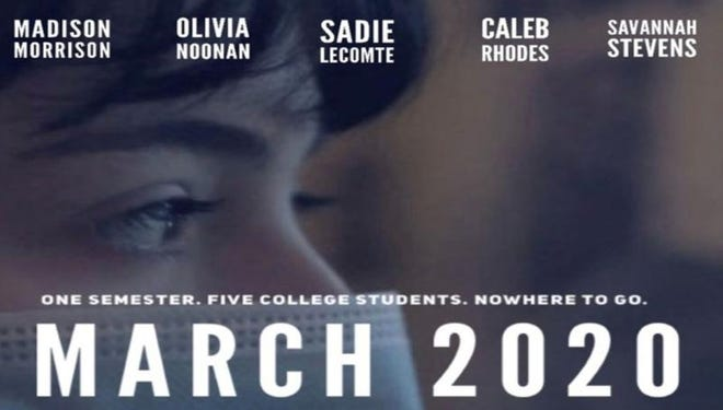 """NATCHITOCHES – A short documentary titled """"March 2020"""" made by students in Professor Melody Gilbert's documentary production class."""