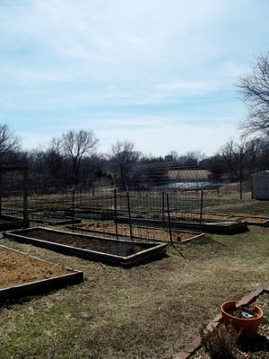 Bartlesville First Methodist Church's Garden of Eatin' is ready for planting. Master gardeners often participate in community gardens like this one.