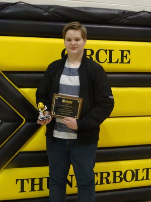 The Butler County Spelling Bee champion is Nicholas Williams from Circle Middle School
