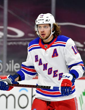 New York Rangers left wing Artemi Panarin has missed the team's past seven games since taking a leave of absence after a report from his native Russia suggested he assaulted a woman 10 years ago.