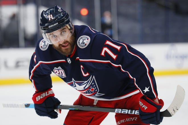 Blue Jackets forward Nick Foligno is in a goal drought dating more than a month, but he hasn't let his lack of scoring affect his leadership skills.