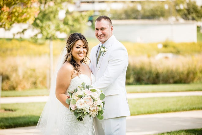 Sarah and Ian Coldiron's wedding