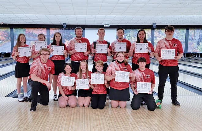 14 total Cardinals earned I-8 All Conference honors between the varsity and junior varsity tournaments this past Saturday
