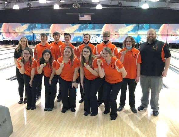 The Quincy Orioles swept the championships at Saturday's Bronson Bowling Invite, with titles in both the boys and girls events.