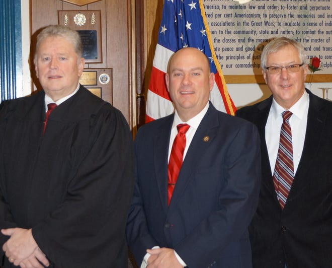 Republican candidates Scott Kenney, Norm Zeh and Mike Nagle all seek reelection in the Village of Dansville March 16.
