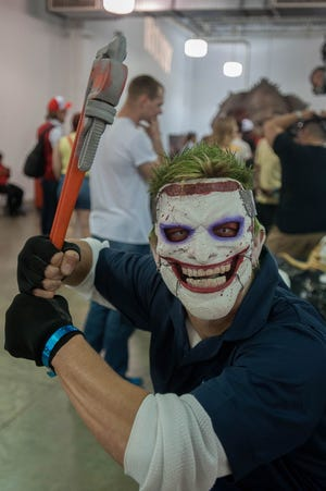 Collective Con comes to the Jacksonville Fairgrounds this weekend.