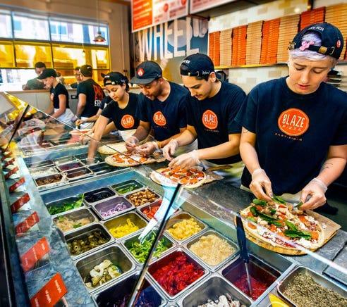 Blaze Pizza, 840 Nautica Drive at River City Marketplace in Jacksonville.