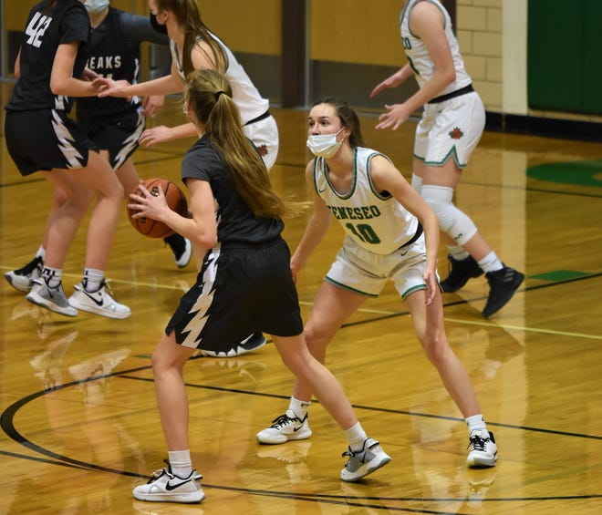 Ali Rapps was a key contributor to the success of the Lady Leafs over Moline.