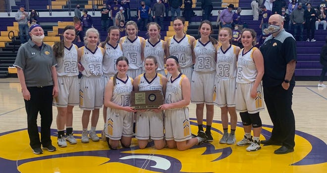 The WaKeeney-Trego girls are headed to state for the third straight year.