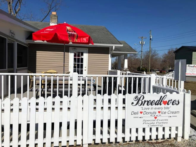 Breedlove's Deli is located at 316 Chadwick Avenue in Hendersonville.