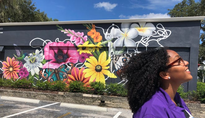 Jaszmyne, 18, is a senior at Pace Center for Girls and is headed to the Savannah College of Art and Design in the fall. She has been working in the center's new room for science, technology, engineering, art, music and math, donated by the Barnetts.