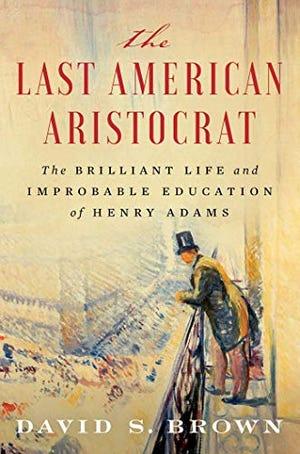 """""""The Last American Aristocrat"""" book cover."""