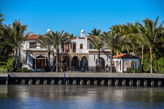 A recently completed Moroccan-inspired house at 624 Island Drive on Everglades Island has sold for a reported $21.75 million.