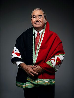 Geoffrey Standing Bear, Principal Chief of the Osage Nation