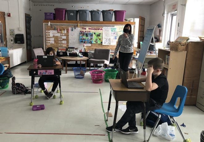 Students in the Hampton School District will be returning to in-person learning five days a week.