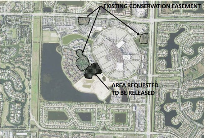 A developer wants to put 5 multi-family housing units on a wetlands area in Wellington.