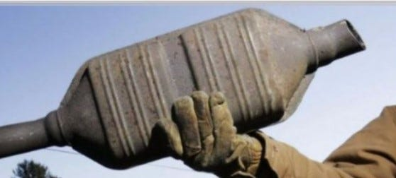 Cranston police say they're seeing an increase in the theft of catalytic converters.